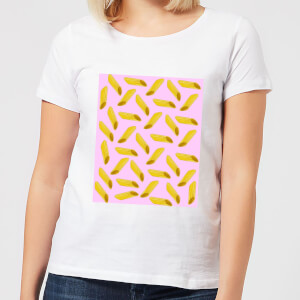 Penne Pasta Pink Women's T-Shirt - White
