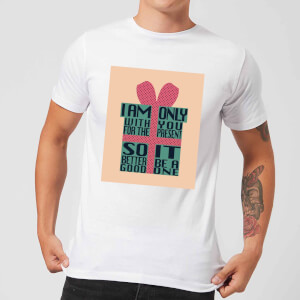Only With You For The Present Men's T-Shirt - White