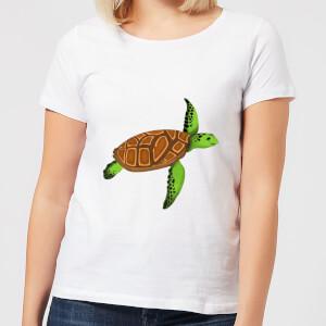 Turtle Women's T-Shirt - White