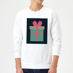 Plain Present Sweatshirt - White