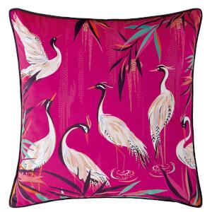 Sara Miller Heron Cushion - Pink