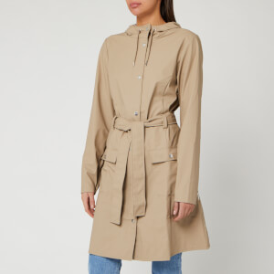 RAINS Women's Curve Jacket - Beige