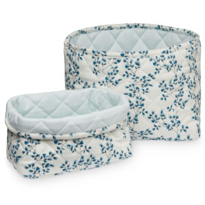 Cam Cam Quilted Storage Basket - Fiori (Set of 2)