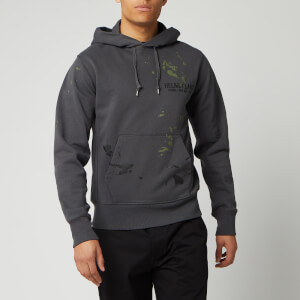 Helmut Lang Men's Standard Painter Hoodie - Pewter