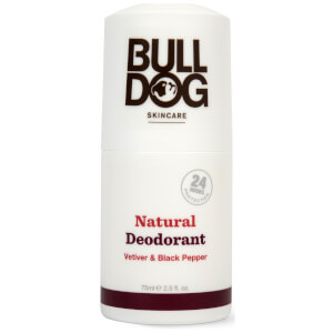 Bulldog Black Pepper & Vetiver Natural Deodorant 75ml