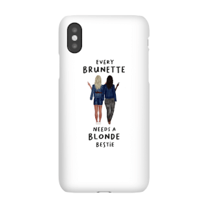 Every Brunette Needs A Blonde Bestie Phone Case for iPhone and Android
