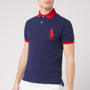 Polo Ralph Lauren Men's Short Sleeve Big Pony Polo Shirt - Newport Navy