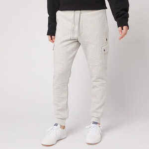 Polo Ralph Lauren Men's Double Knit Cargo Joggers - Light Sport Heather