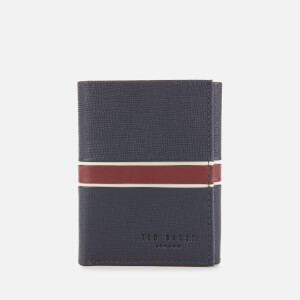 Ted Baker Men's Strive Trifold Wallet - Navy