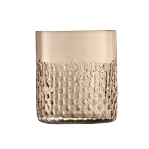 LSA Wicker Tumbler Glass - Taupe 330ml (Set of 2)