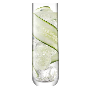 LSA Borough Highball Glass 420ml (Set of 4)