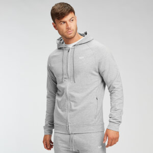MP Form Zip Up Hoodie - Til mænd - Grey Marl