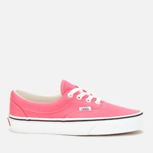 Vans Women's Era Neon Trainers - Knockout Pink/True White