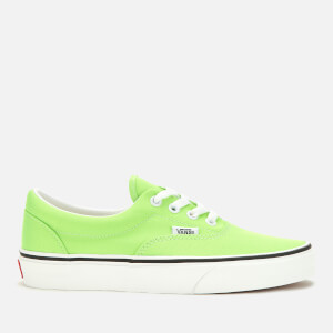 Vans Women's Era Neon Trainers - Green Gecko/True White