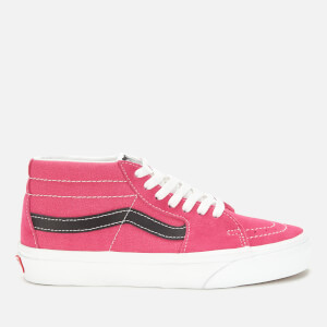 Vans Women's Sk8-Mid Retro Sport Trainers - Fuchsia Purple/True White