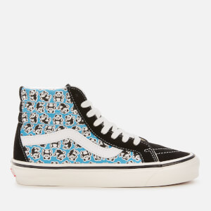 Vans Women's Anaheim Sk8-Hi 38 DX Hi-Top Trainers - OG Pandas/OG Black/OG Blue