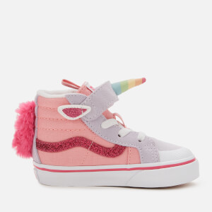 Vans Toddler's Unicorn Sk8-Hi Reissue Trainers - Pink Icing