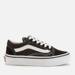 Vans Kids' Old Skool Trainers - Black/True White