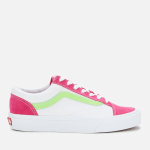 Vans Women's Retro Sport Style 36 Trainers - Fuchsia Purple/True White