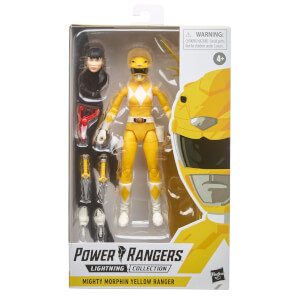 Hasbro Power Rangers S.P.D. Collection Mighty Morphin Yellow Ranger 6 Inch Action Figure