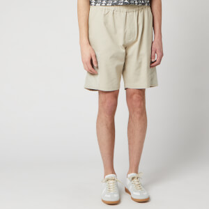 Folk Men's Overlay Shorts - Stone