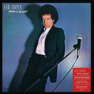 Leo Sayer - Thunder In My Heart Red LP