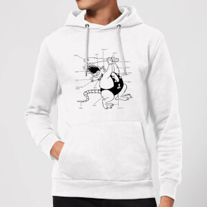 Battletoads Classic Year of the Rat Hoodie - White