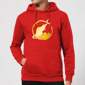 Sea of Thieves Year of the Rat Hoodie - Red