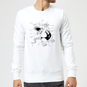 Battletoads Classic Year of the Rat Sweatshirt - White