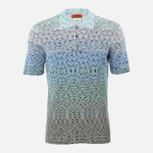 Missoni Men's Knitted Polo Shirt - Multi