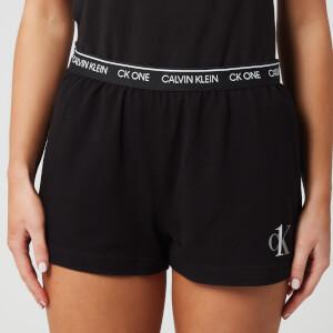 Calvin Klein Women's Sleep Shorts - Black