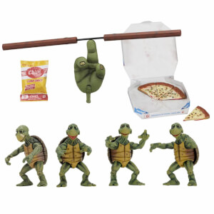 NECA TMNT - 1/4 Scale Action Figures - Baby Turtles Set (1990 Movie)