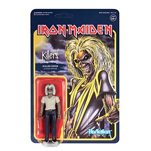 Super7 Iron Maiden ReAction Figure Killers