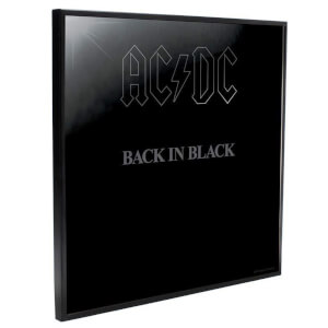 AC/DC - Back In Black Crystal Clear Pictures Wall Art