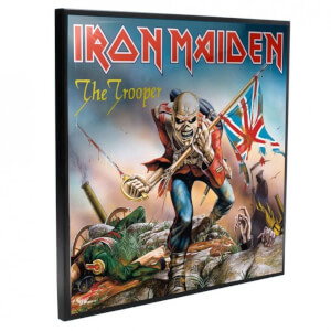 Iron Maiden - The Trooper Crystal Clear Pictures Wall Art