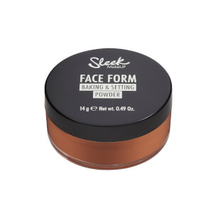 Sleek MakeUP Face Form Baking and Setting Powder - Deep