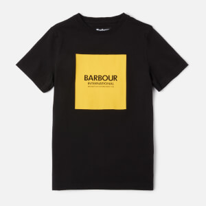 Barbour Boys' Black Logo T-Shirt - Black