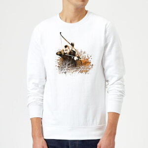 The Lord Of The Rings Legolas Sweatshirt - White