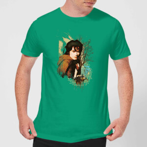 The Lord Of The Rings Frodo Men's T-Shirt - Kelly Green
