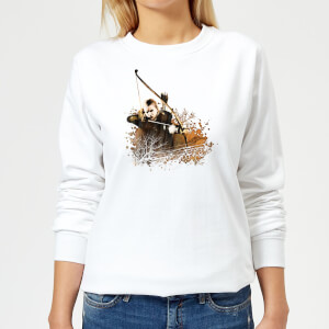 The Lord Of The Rings Legolas Women's Sweatshirt - White