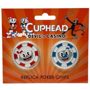 Cuphead Devil's Casino Replica Poker Chip Coins