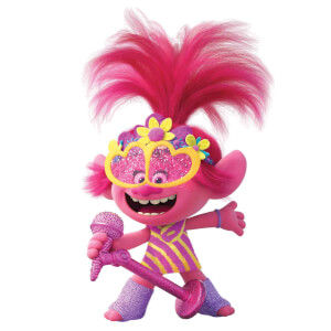 Trolls Wolrd Tour Poppy Mini Sized Cardboard Cut Out