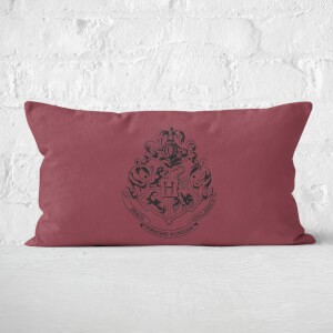 Harry Potter Hogwarts Crest Rectangular Cushion