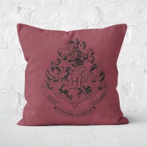 Harry Potter Hogwarts Crest Square Cushion