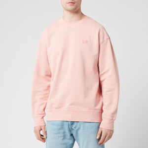 Levi's Men's Authentic Logo Crewneck Sweatshirt - Pink