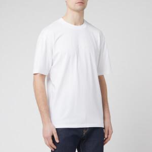 Edwin Men's Katakana Embroidery T-Shirt - White