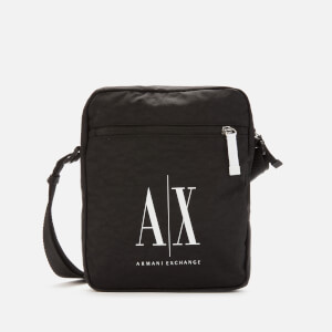 Armani Exchange Men's Ax Logo Cross Body Bag - Black