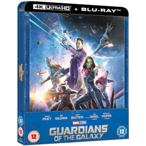 Guardianes de la Galaxia 4K (incl. Blu-ray 2D) - Steelbook Ed. Limitada Exclusivo