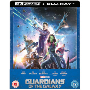 Guardians of the Galaxy - Zavvi Exclusive 4K Ultra HD Steelbook (Includes 2D Blu-ray)