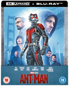 Ant-Man 4K + Blu-ray 2D - Steelbook Ed. Limitada Exclusivo Zavvi